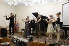 Ансамбль флейт (слева направо) Е.В. Колесникова, Сабина Нариманова, Мария Козлова, Екатерина Гекк, Диана Браузман