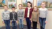Слева направо Ксения Дроздова, Дмитрий Грачев, Ксения Гроо, Ксения Иванова, Елизавета Токарева, Виктория Павлова